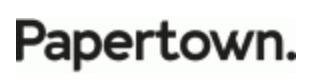 Logo Papertown