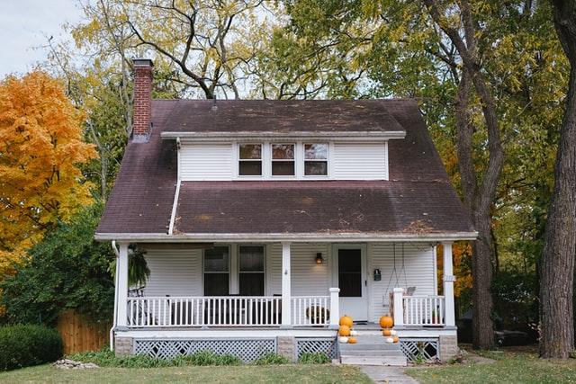 Villa som har försäkrats med hjälp av en hemförsäkring