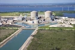 Bild på ett kärnkraftverk