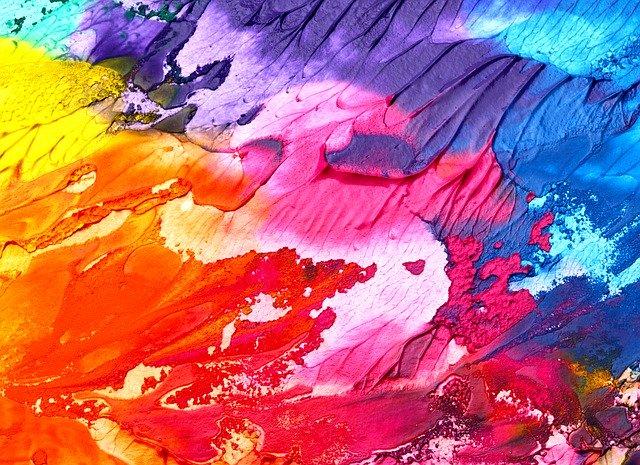 Explosion av färger